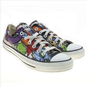 CONVERSE All Star Sticker Oxford Sneakers